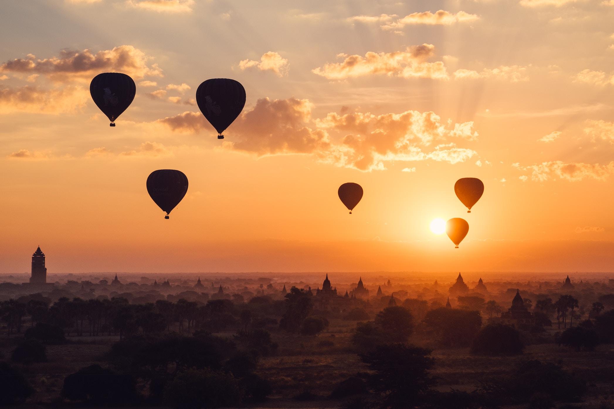 Southeast Asian destinations: Bagan