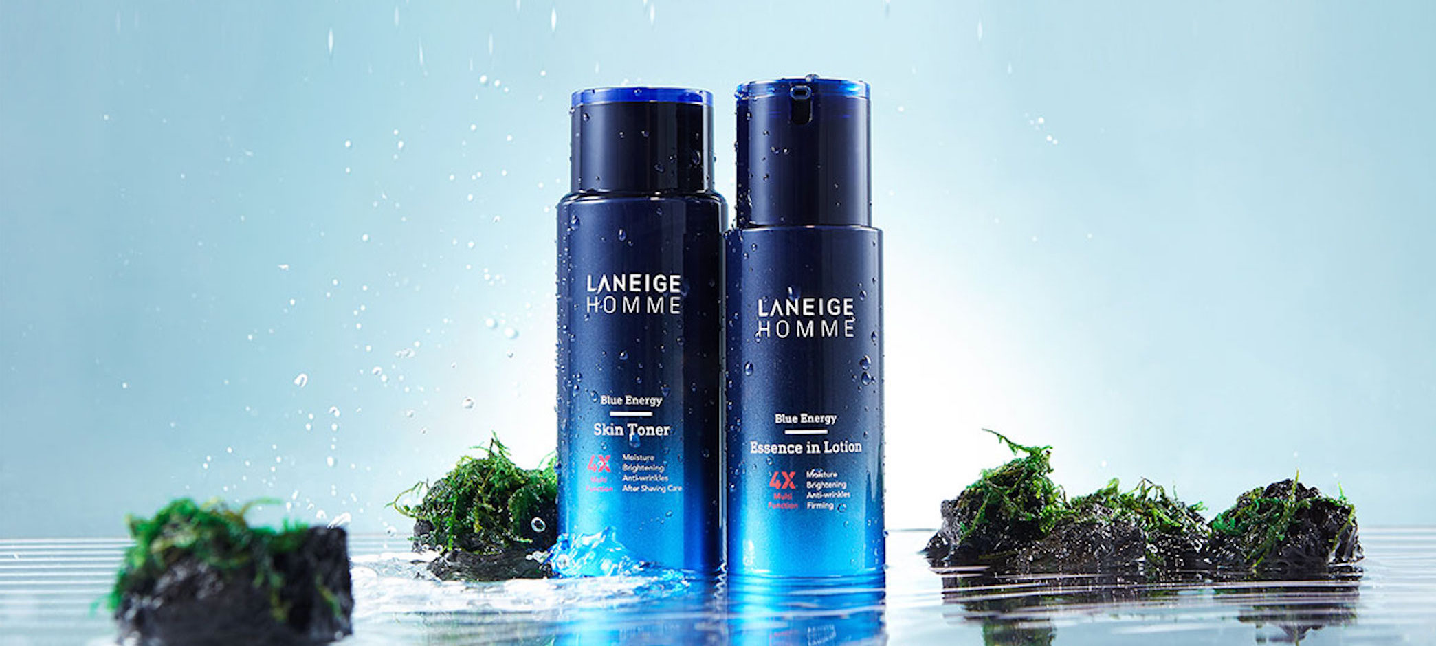 Mens grooming products: Laneige Homme Blue Energy