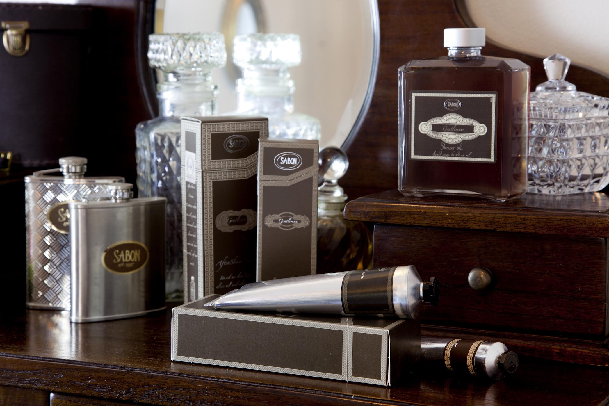 Men's grooming products: Sabon Gentleman