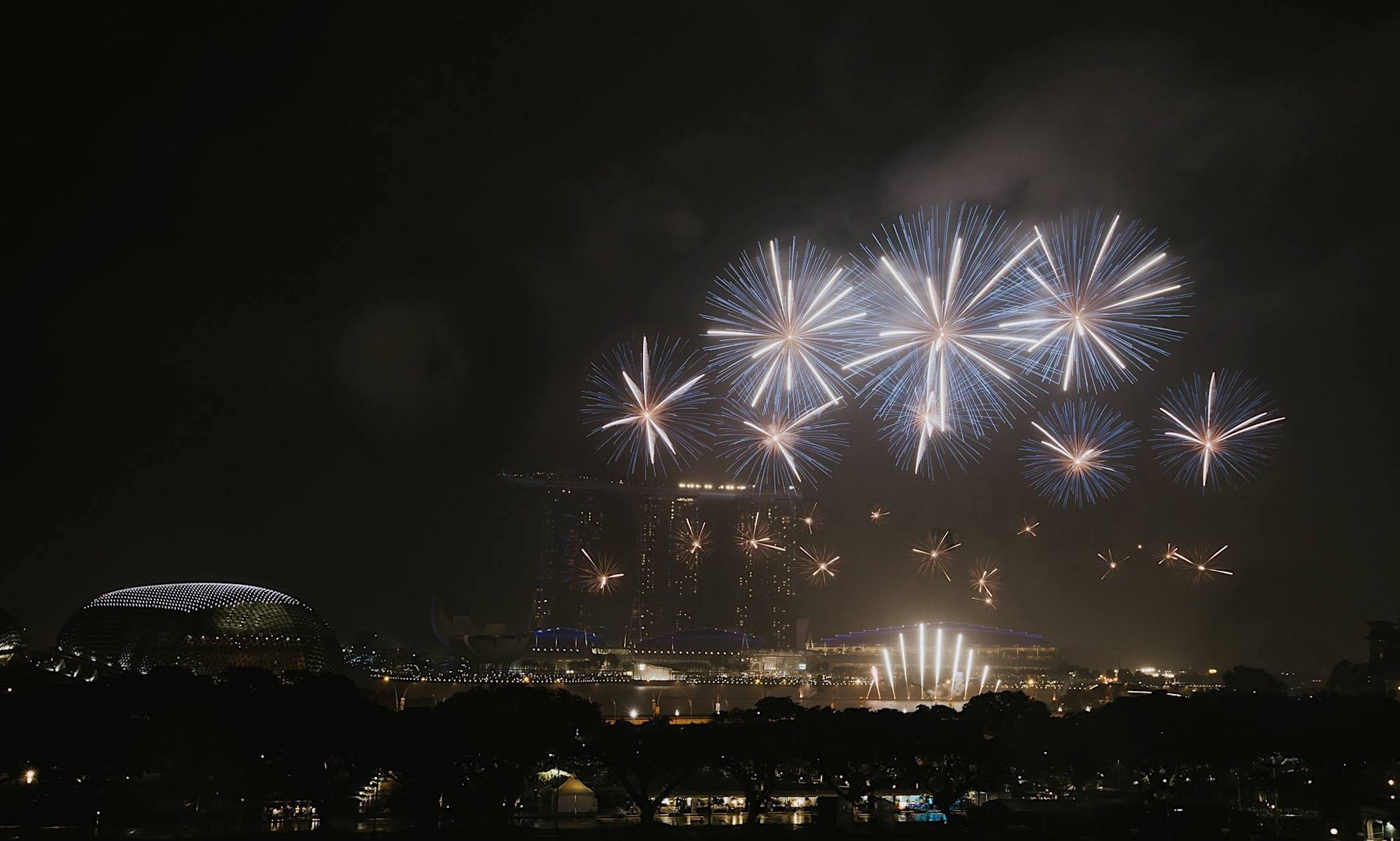 Where to watch fireworks in Singapore: Smoke and Mirrors