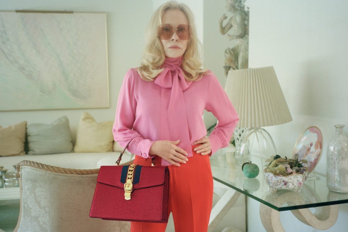 Faye Dunaway Stars in Gucci's Latest Hollywood-Inspired Campaign