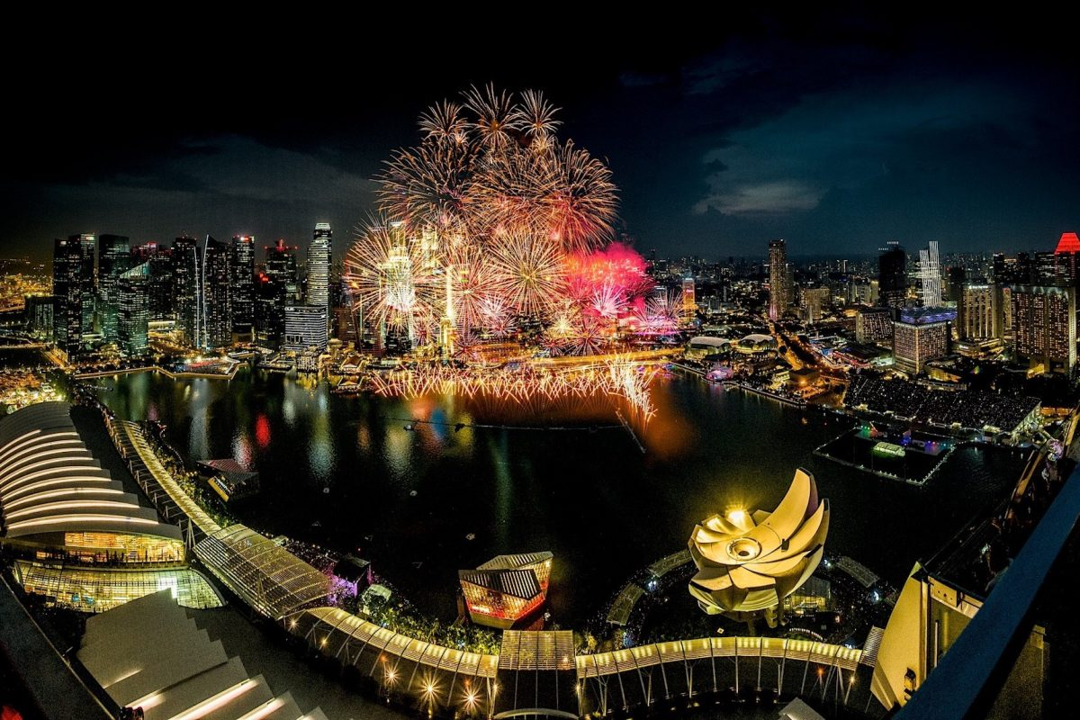 Where To Watch The Fireworks In Singapore This National Day