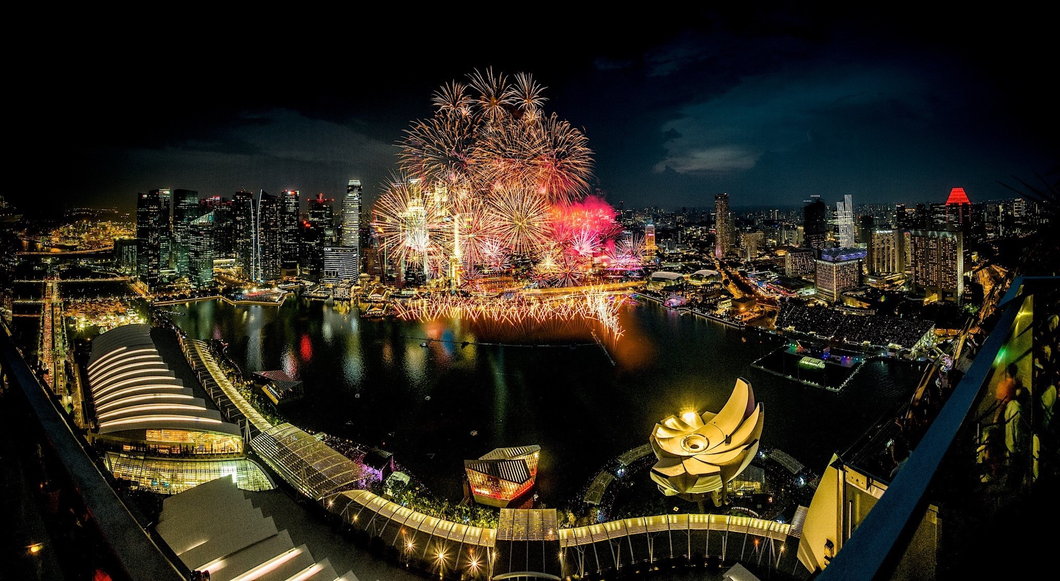 Where to watch fireworks in Singapore: Ce La Vi