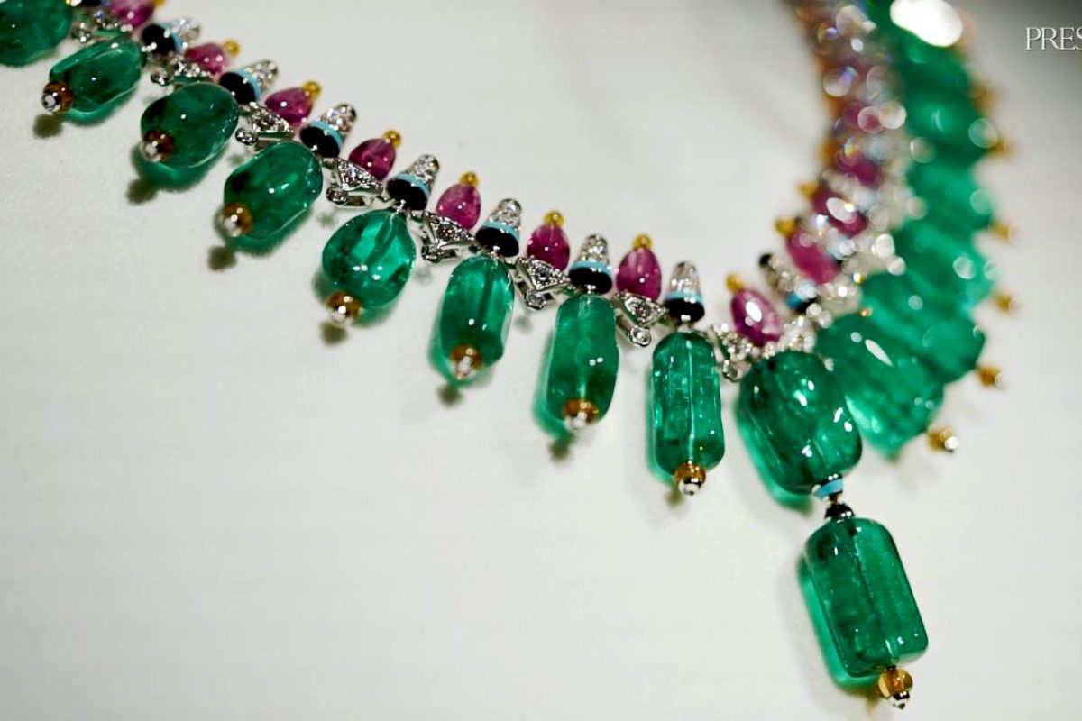 VIDEO: Cartier's Expertise In Coloured Gemstones