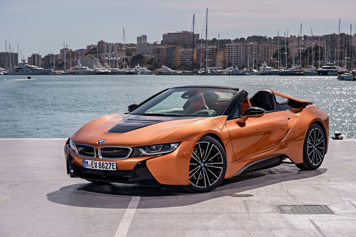 BMW's First-Ever i8 Roadster To Debut In Singapore At BMW World 2018