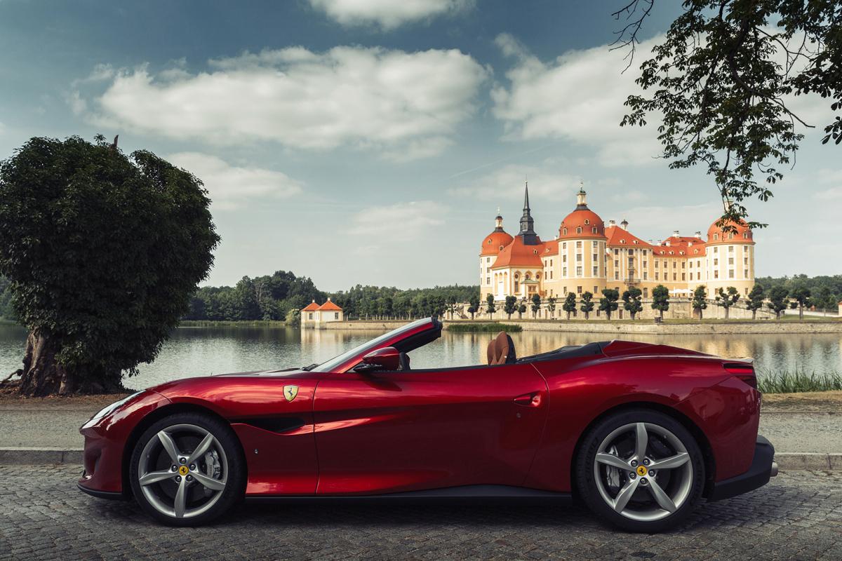 絕代風華:Ferrari Portofino歐洲之旅