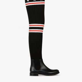 Givenchy - Storm Over the Knee Rain Boot
