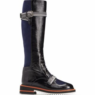 Lanvin - Two Toned Leather boots