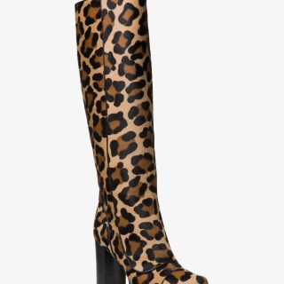 Michael Kors - Finn Leopard Calf Hair boot