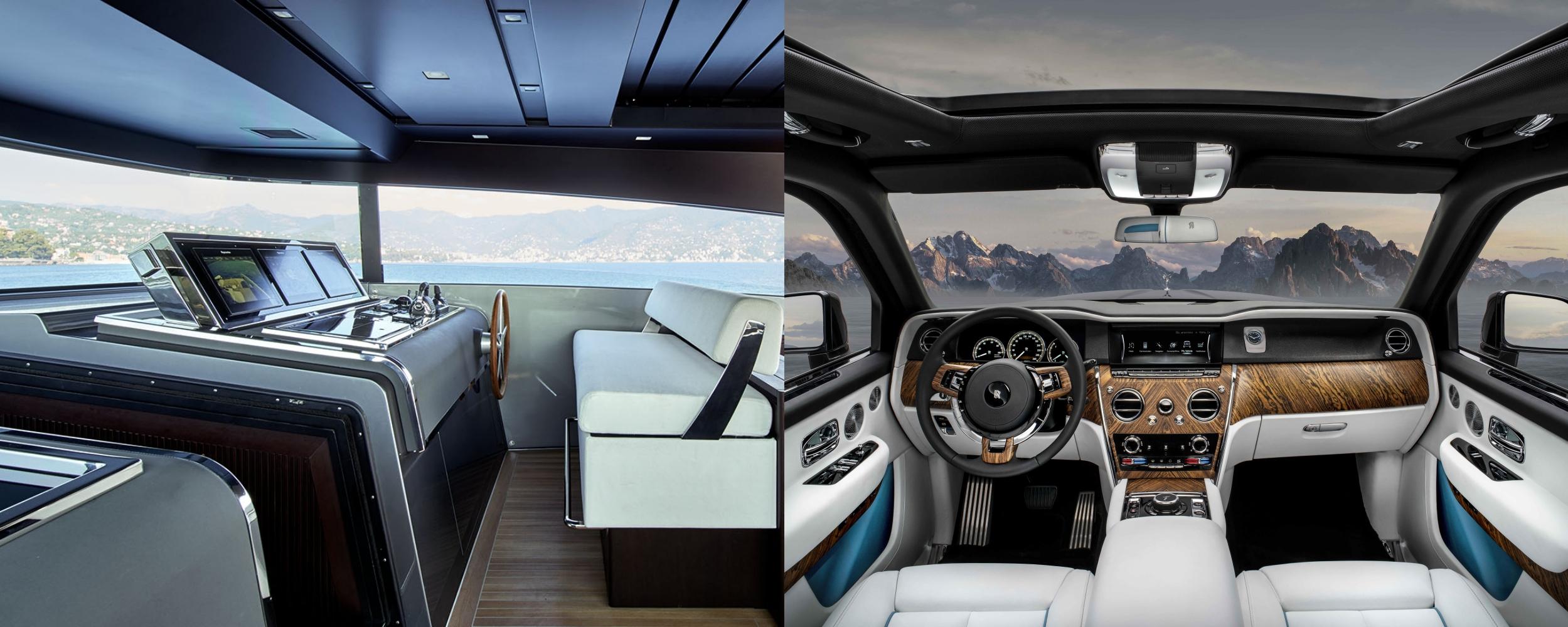 Sanlorenzo and Rolls-Royce