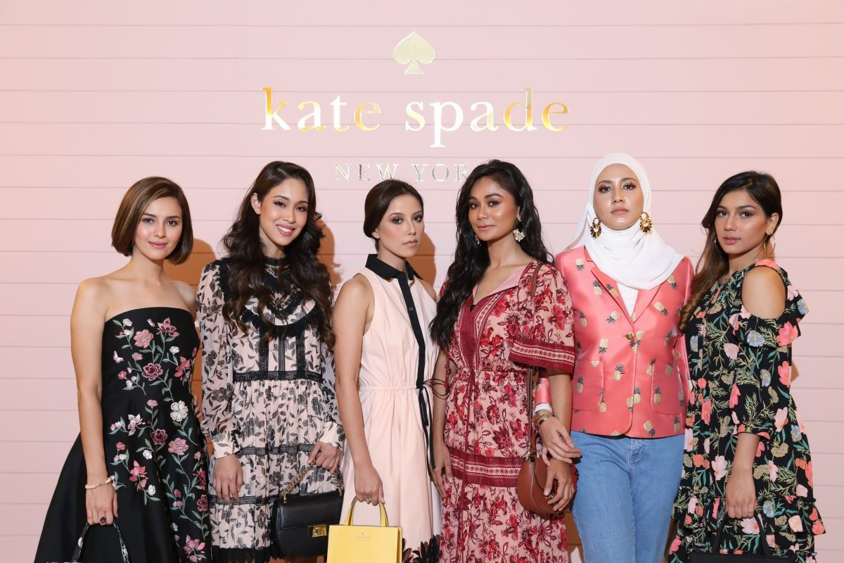 Malaysian Celebrities Attend The Kate Spade Fall 2018 Collection Preview