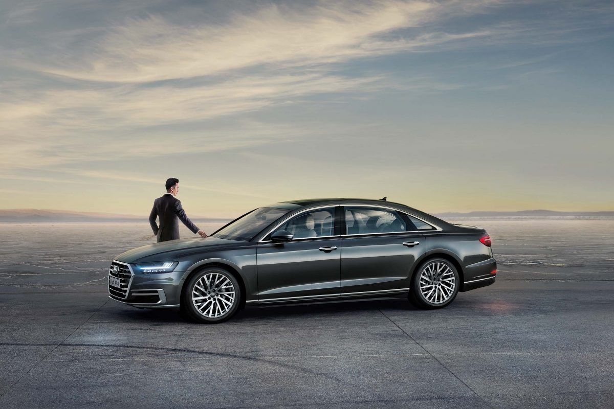The New Audi A8 Proves Itself To Be A High-Tech, Intuitive Drive