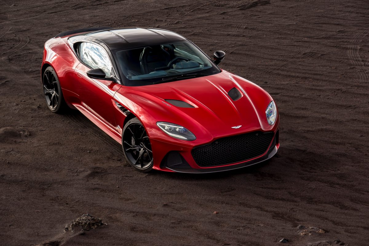 The All-New Aston Martin DBS Superleggera Supercar Revealed