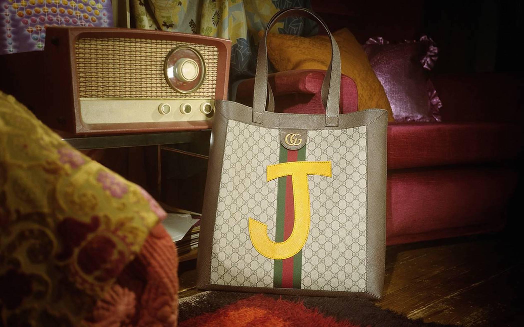 Customisable gucci bag