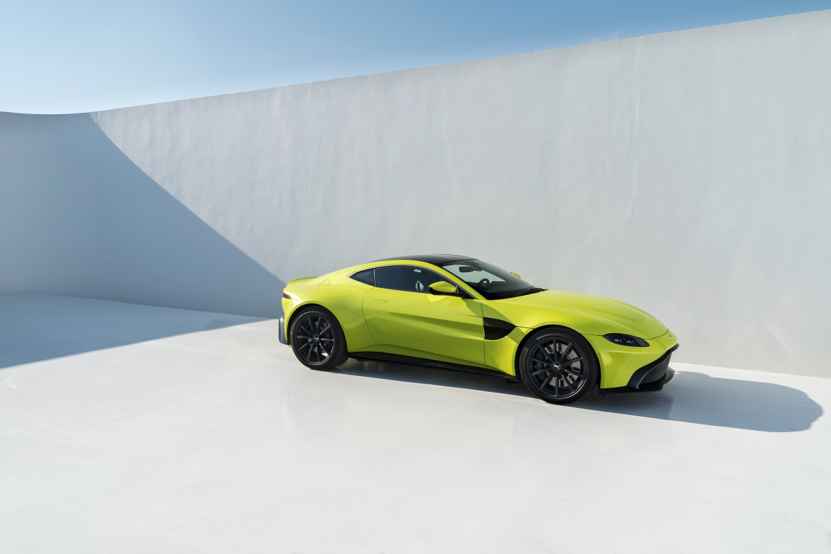 Aston Martin's New Vantage Is A Force To Be Reckoned With
