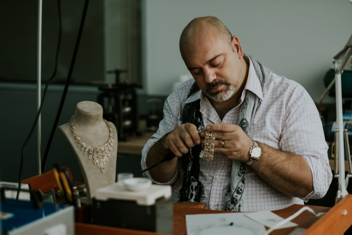 Gems Are This Man's Best Friend: Danilo Giannoni, Founder Of Arte Oro