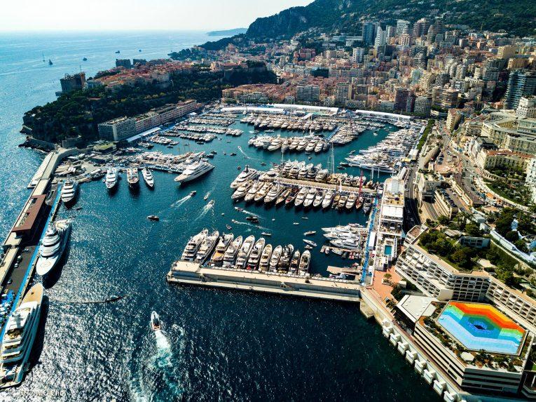 Monaco Yacht show esterno