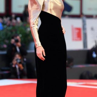 Cate Blanchett in  Armani Privé couture autumn 2018