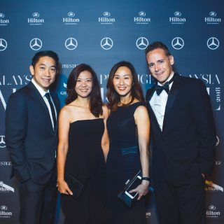Chow Chee Hunt, Elaine Hew, Tracey Ong and Mark Raine