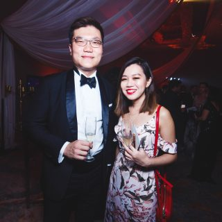 Seth Quek and Julie Yim, Acting Editor of Prestige Malaysia.