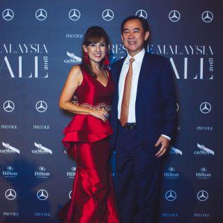 Datin JeanetteTambakau and Datuk Ahmad Shah Tambakau.