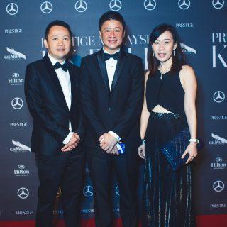 Dato Tan Kar Leong, Martin Tiu and Dr Lorraine Lim.