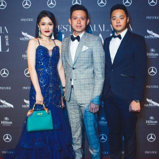 Kylie Kou, Douglas Chong and Jade Chong.