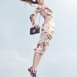 DRESS, BAG & SHOES DOLCE & GABBANA