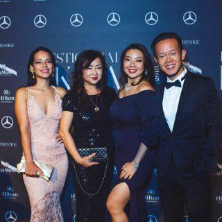Michelle De La Harpe, Eliza Goh, Doritz Thian and Gan Tze Shen.