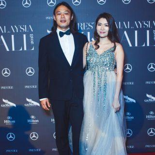 Wong Teck Yang and Sarah Wong.