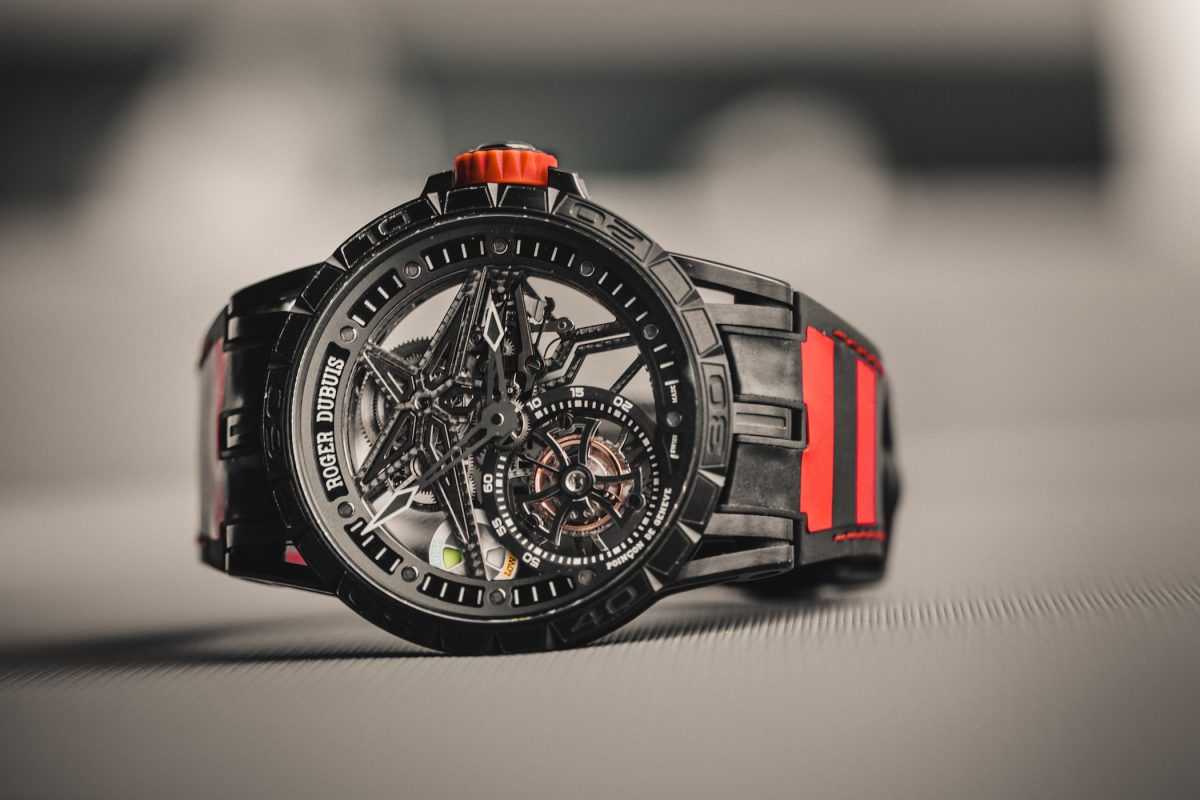 Motorhead Must-Have: The Roger Dubuis Excalibur Spider Pirelli Single Flying Tourbillon