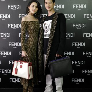 Davika Hoorne and Mario Maurer