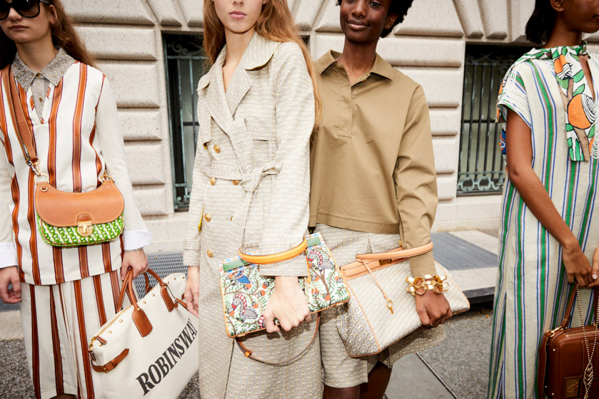 Globe Wanderer in Tory Burch SS19 Collection