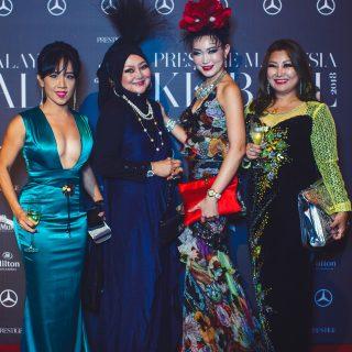 Michelle Koh, Datuk Aminah Ambrose, Jennifer Chok and Elaina Soon.