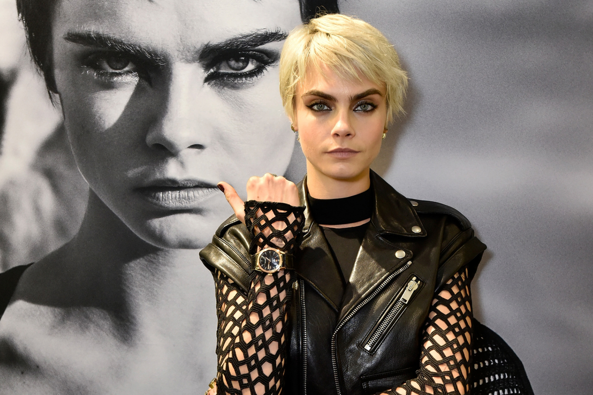 Cara Delevigne's New Campaign for Tag Heuer in South Africa