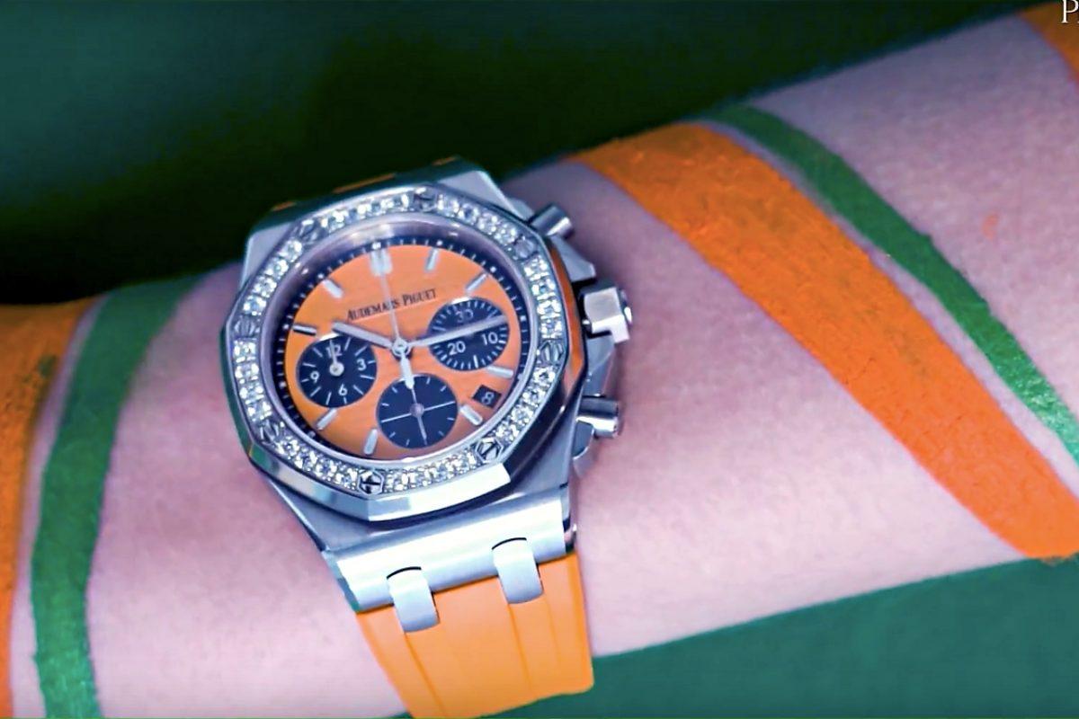 VIDEO: The Colourful Audemars Piguet Royal Oak Offshore Chronograph Selfwinding
