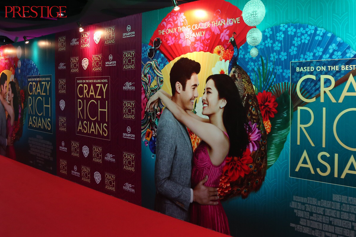 The Exclusive Premiere of Crazy Rich Asians in Indonesia