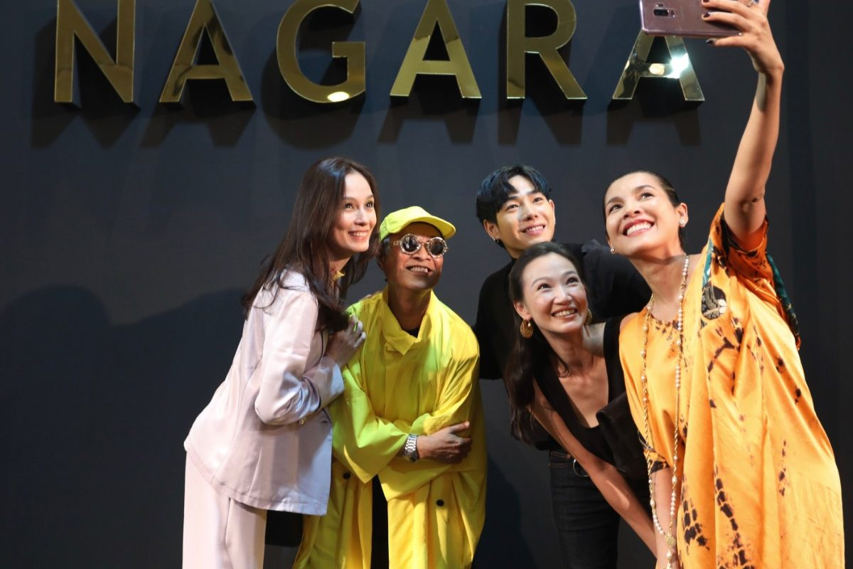 Nagara Celebrates His 3rd Painting Exhibition with Stars and Socialites