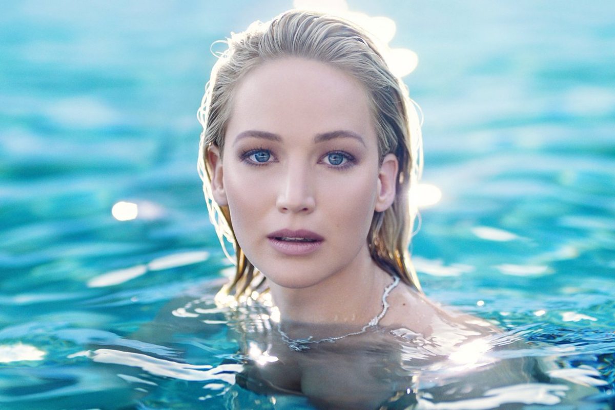 Jennifer Lawrence As the Face of Joy by Dior