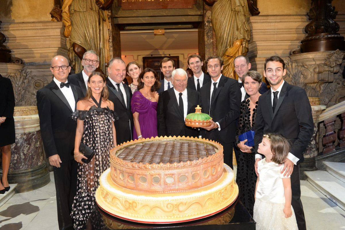 Longchamp 70th Anniversary Celebrations In The Palais Garnier