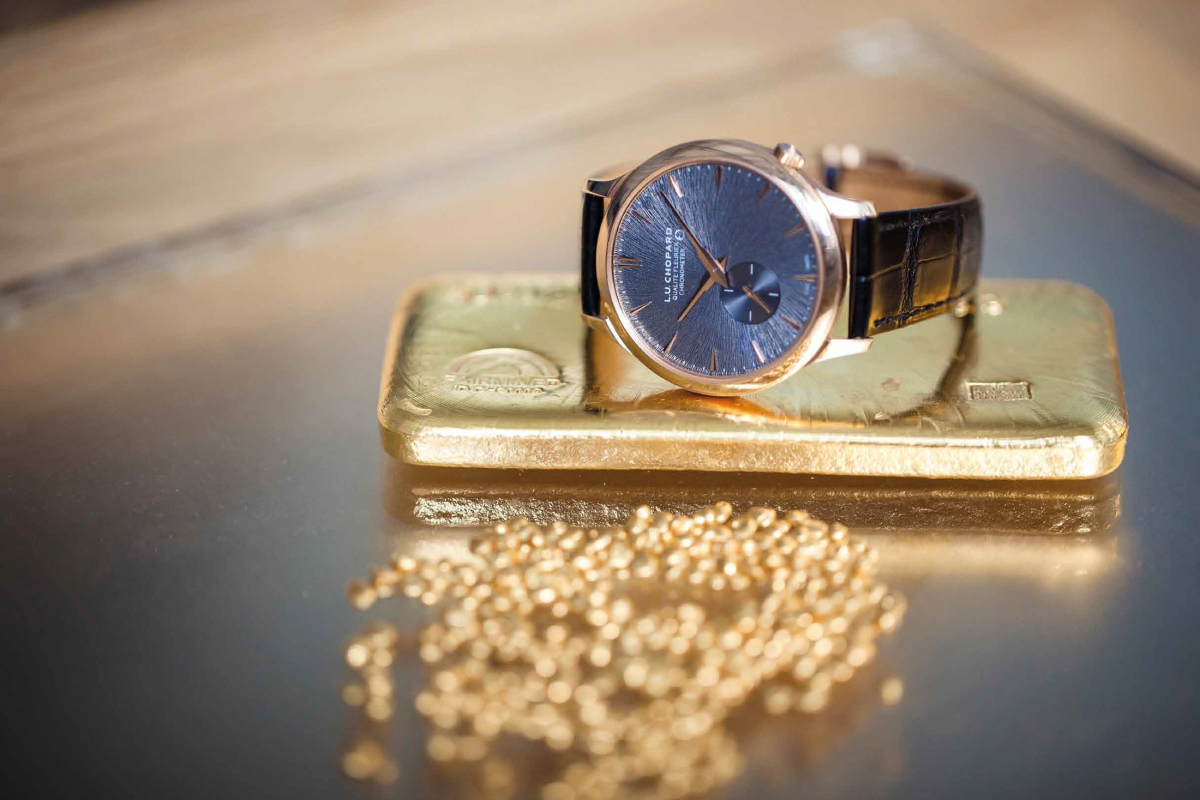 Chopard's Commitment to Use 100% Ethical Gold