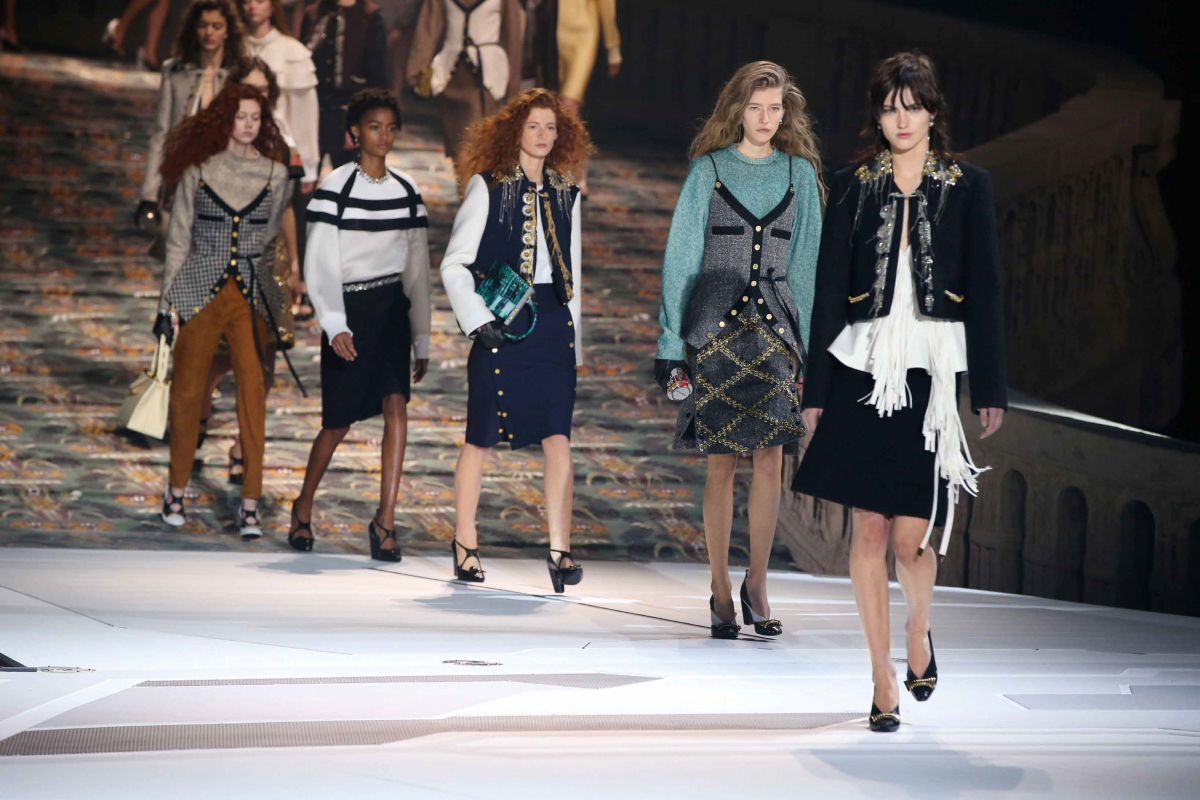 Prestige Report on Louis Vuitton's fall/winter 2018 Collection
