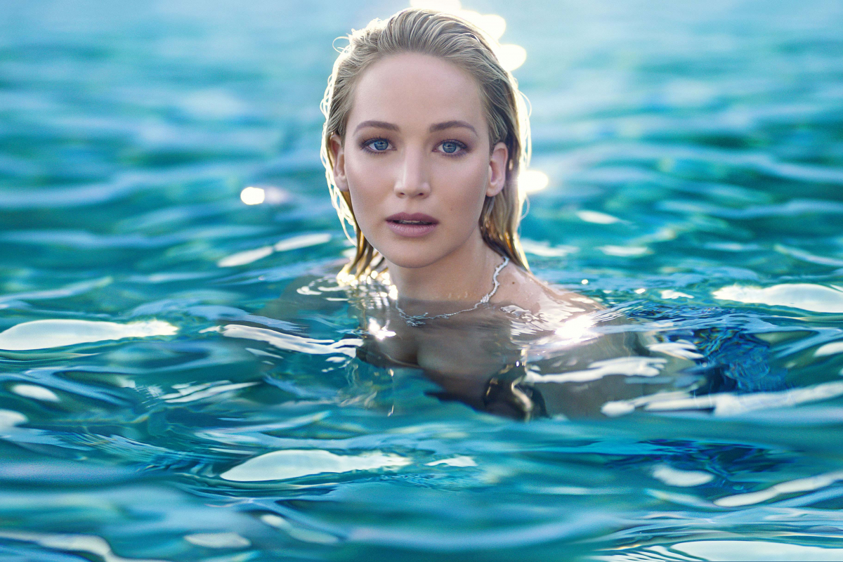 The Pursuit of Happiness with Jennifer Lawrence for Dior