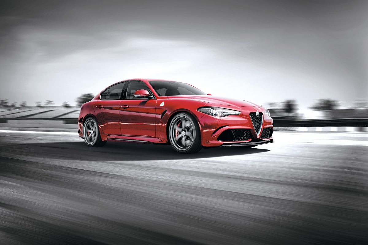 Speedy Sports Car Review: Alfa Romeo Giulia (2Of4)