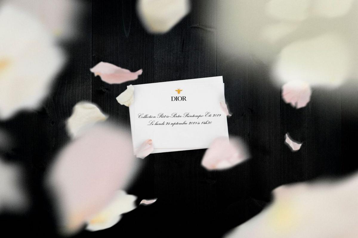 Live: Dior SS19 Collection by Maria Grazia Chiuri