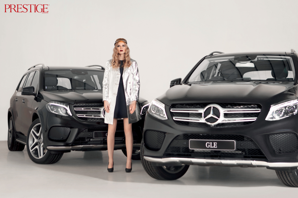 Ride the Mercedes-Benz with Style in Prestige September Issue
