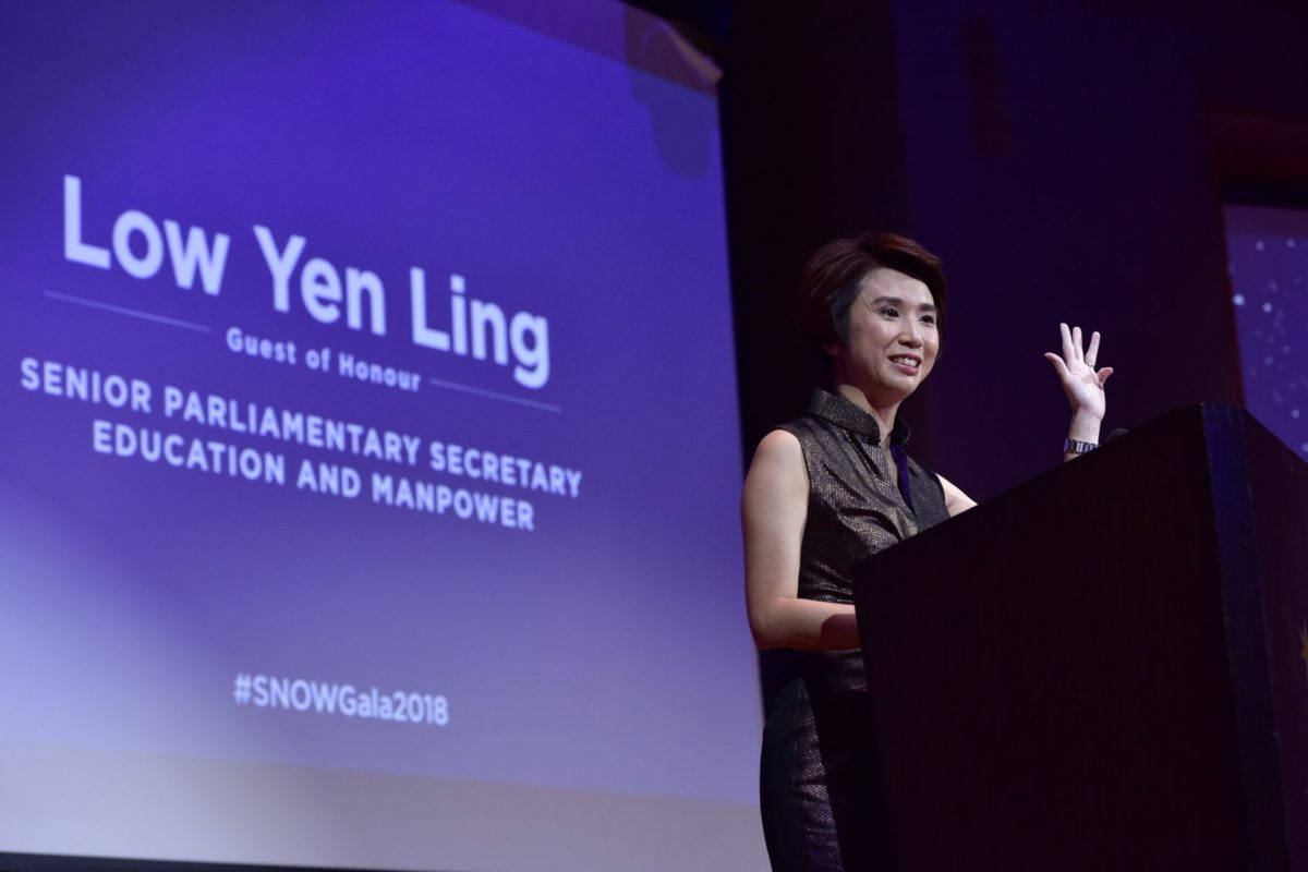 #Hashtag: The Singapore Committee For UN Women's SNOW Gala 2018
