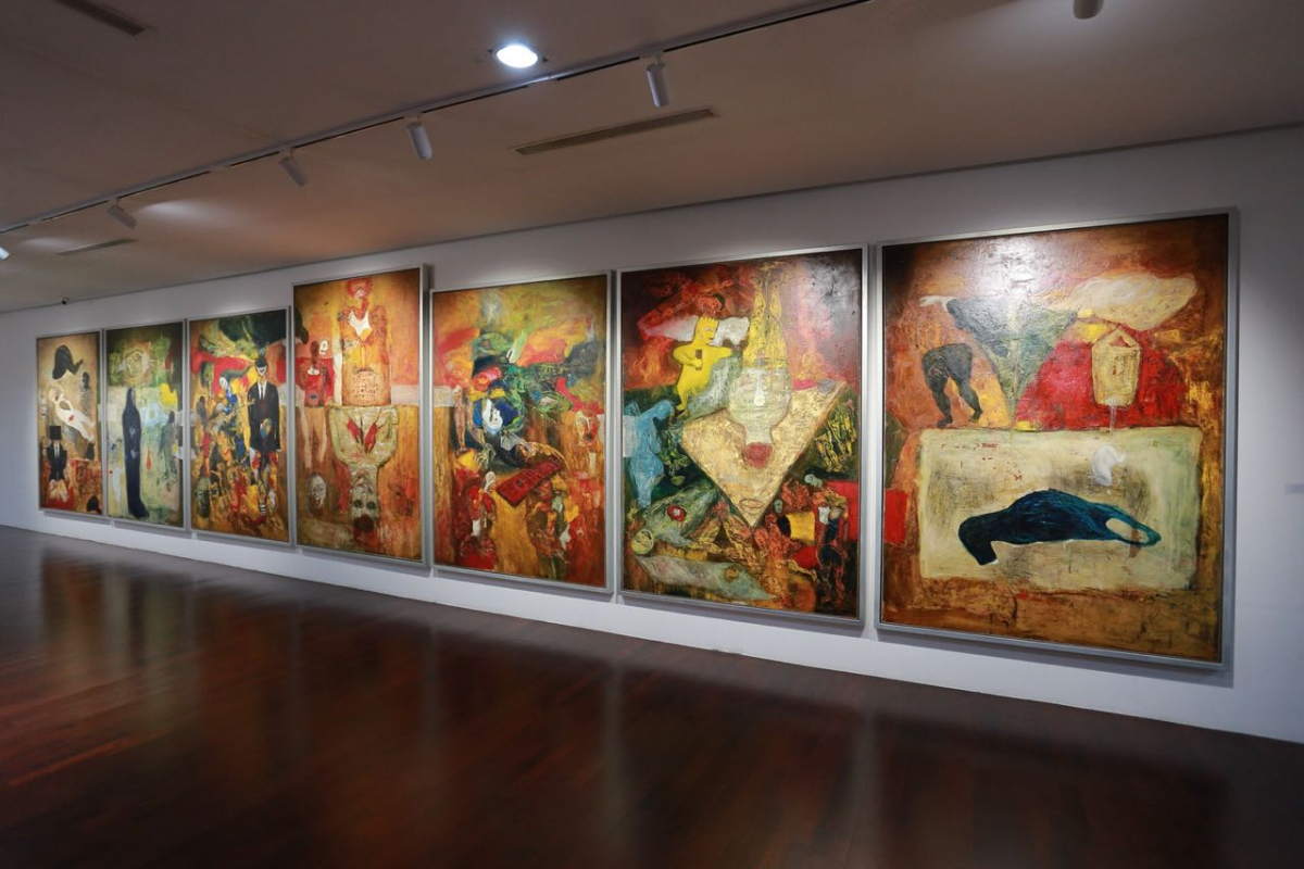 Entang Wiharso's Solo Exhibition at Can's Gallery