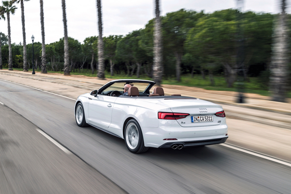 Speedy Sports Car Review: Audi A5 Cabriolet (3Of4)