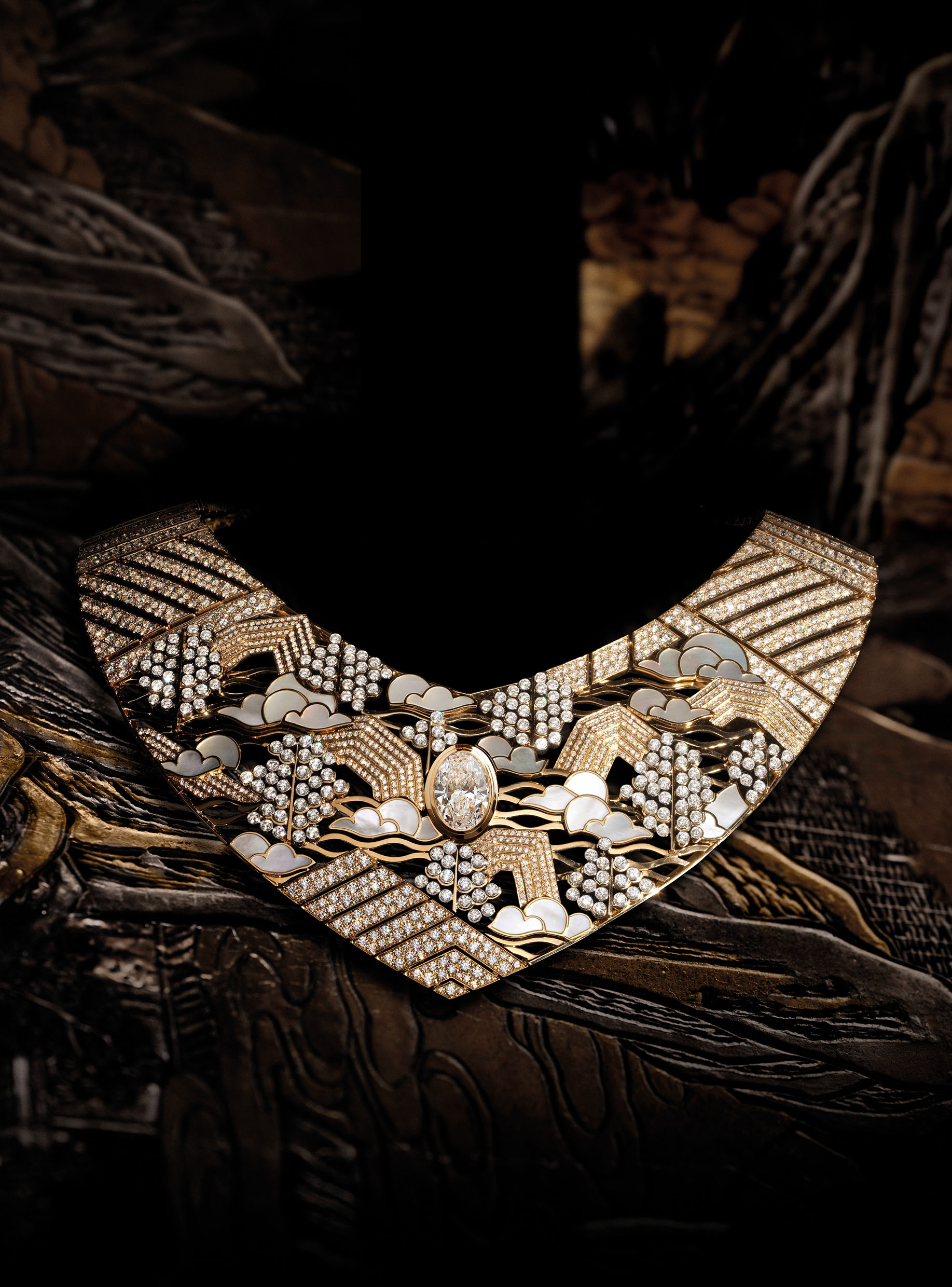 Chanel Coromandel high jewellery